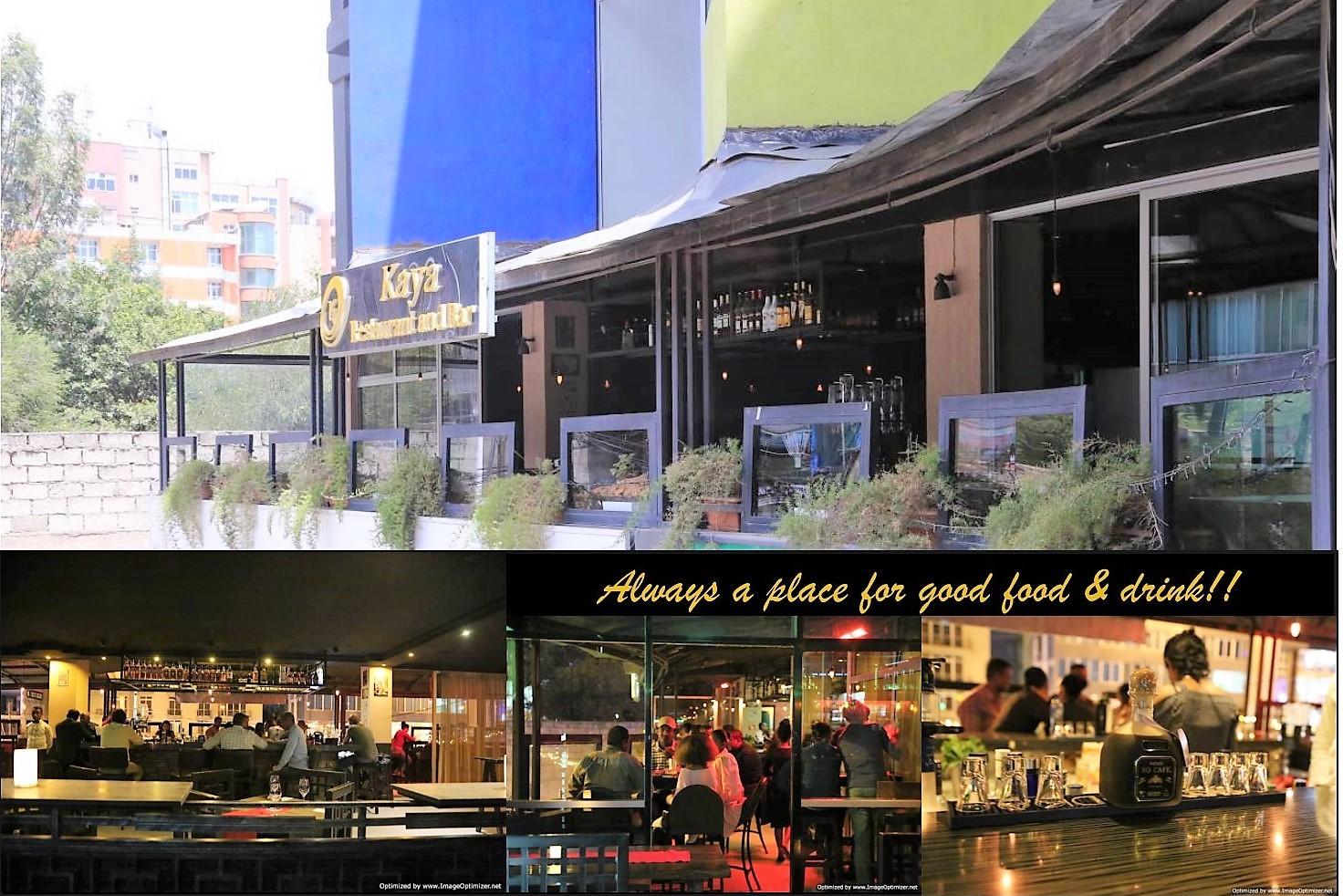 Kaya Restaurant & Bar! Always a place for good food & drink